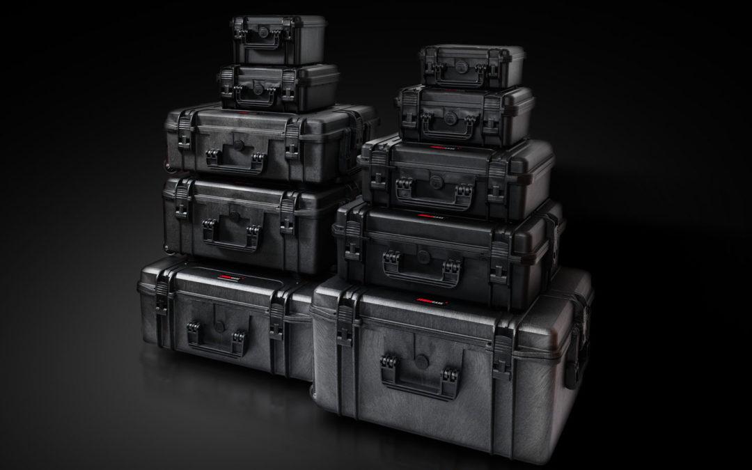 Lancement de notre propre gamme de valise résistante