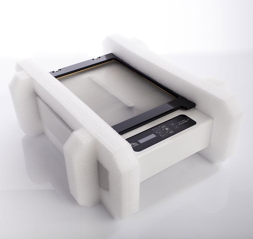 Calage mousse sur mesure emballage appareil médical