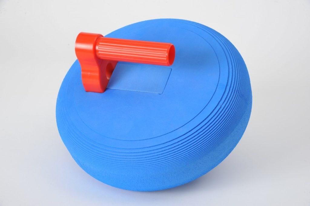 palet de curling en mousse - objet publicitaire