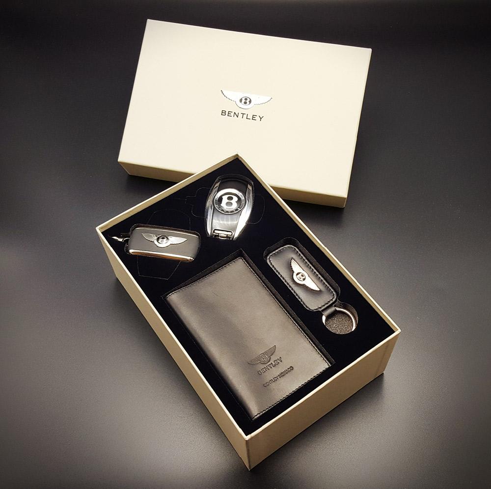 Coffret luxe mousse noire pour Bentley