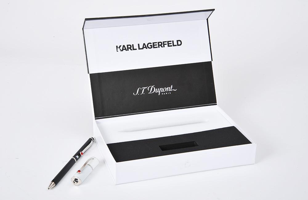 Mousse pour coffret luxe stylo et clé USB ST DUPONT