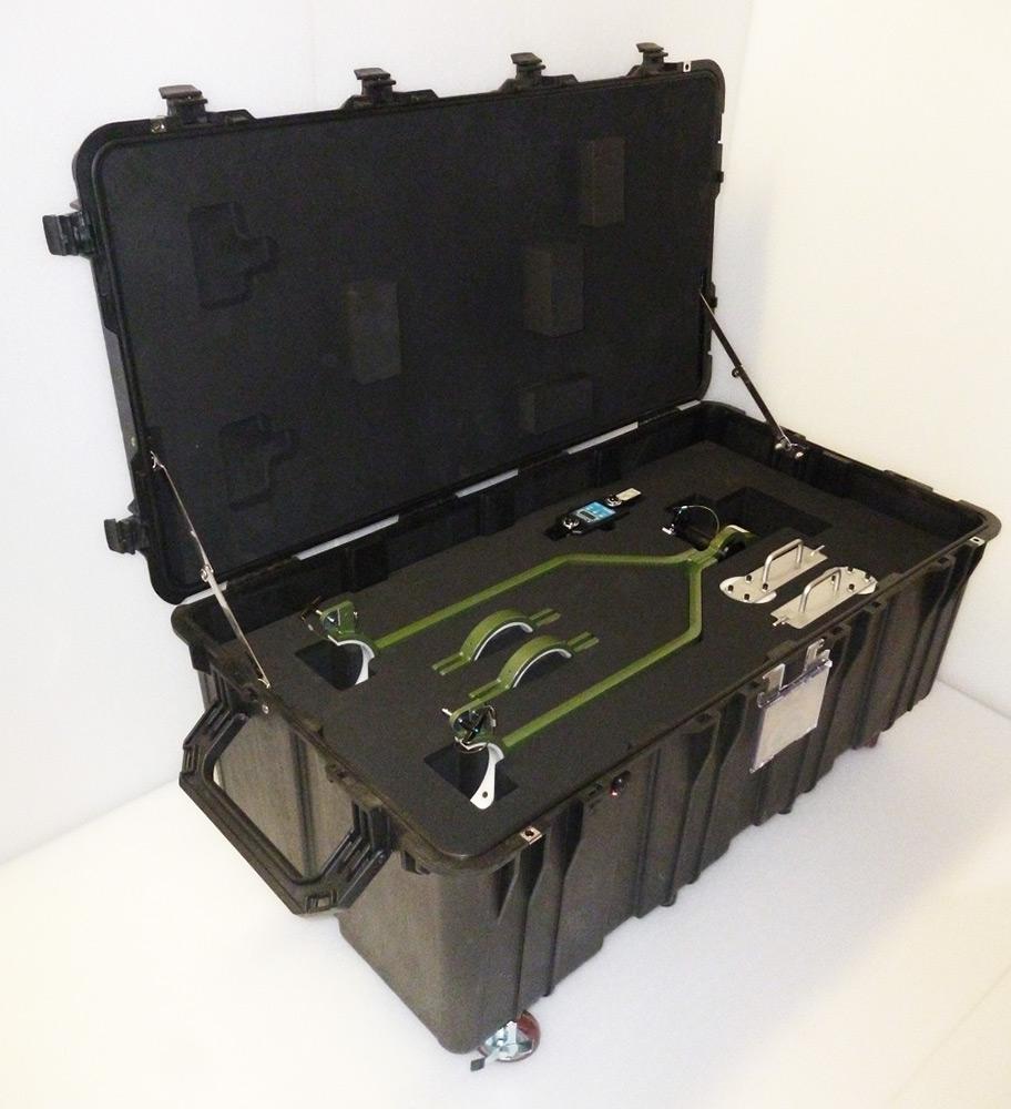 Mousse pour valise de grande taille pelicase