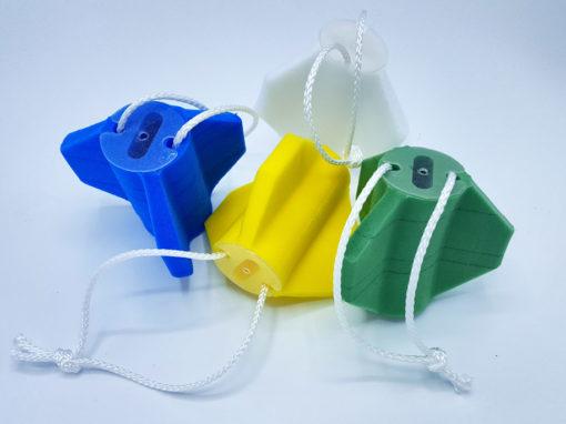Pièces techniques en mousse PE de couleur