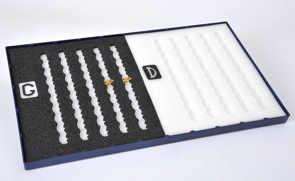 Plateau en mousse plastazote pour organisation atelier