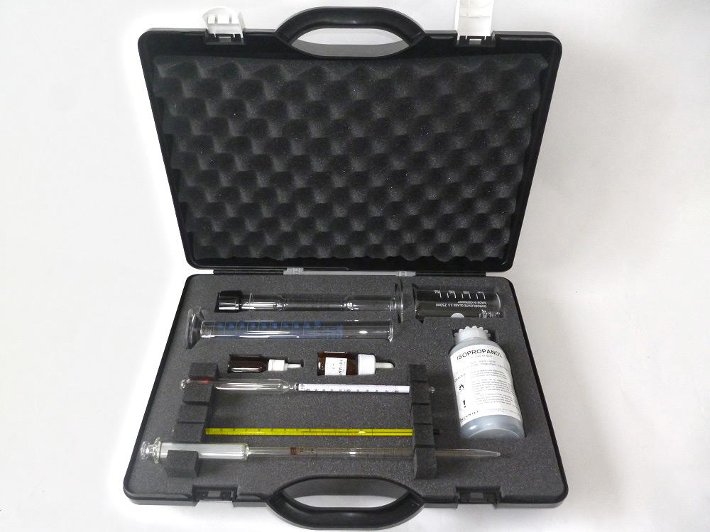 valise analyse médicale avec mousse de calage PU