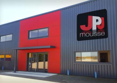 Usine JPJ Mousse à Aillant sur Tholon dans l'Yonne (150kms de Paris)
