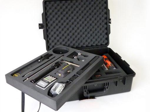 Mousse pour valise Pelicase avec 2 niveaux