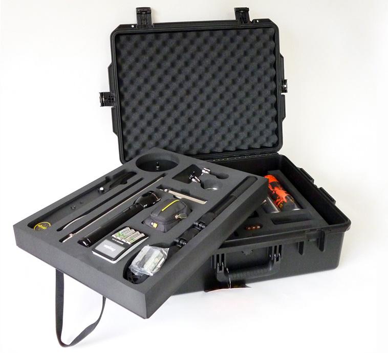 Mousse pour valise avec 2 niveaux de rangement