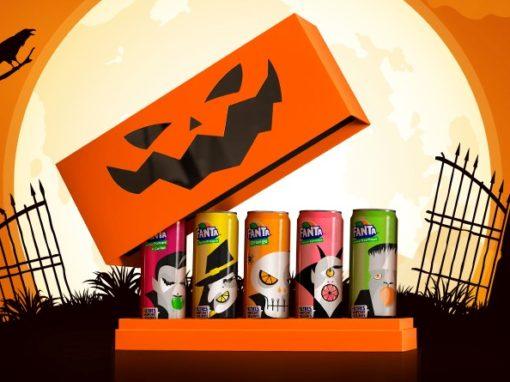 Calage mousse pour Coffret Fanta pour Halloween