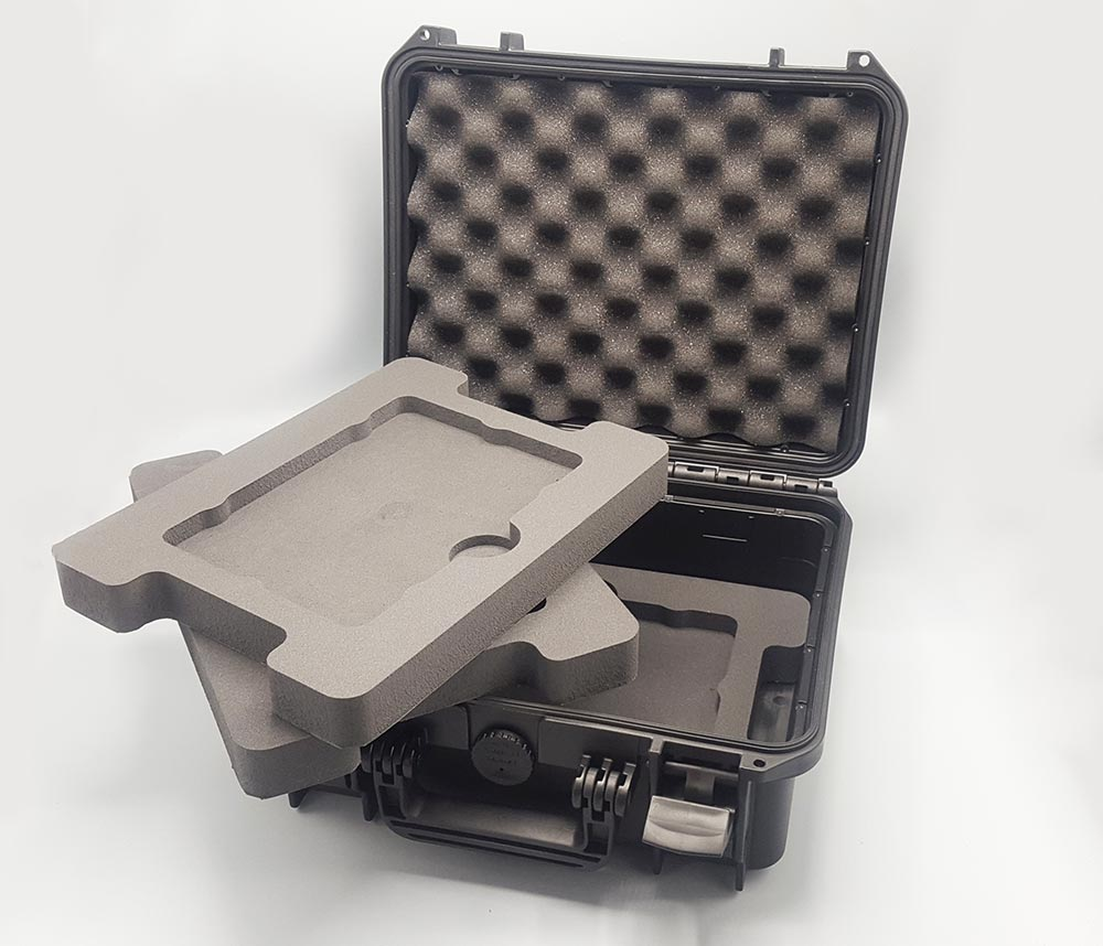 plateaux en mousse pour valise technique pour la mécanique