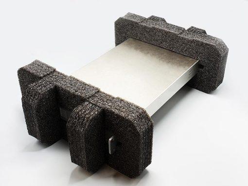 Mousse de calage pour emballage adaptable