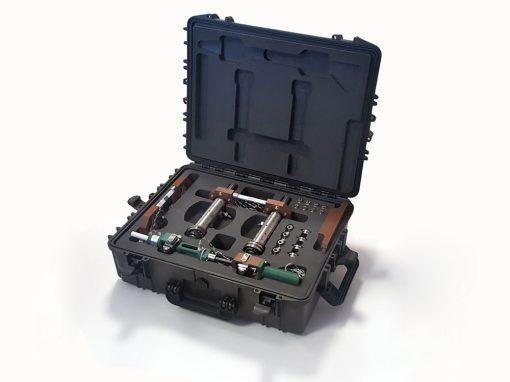 Mousse protection valise pour le CNRS
