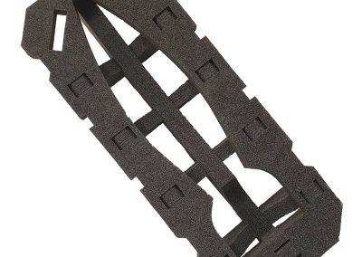 Grande mousse noire (1m70)