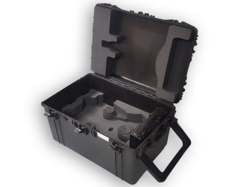 Grande valise roulette solide pour l'industrie