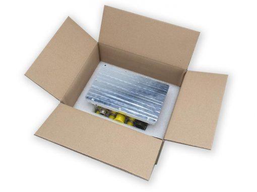 Emballage protection mousse LAM et carton