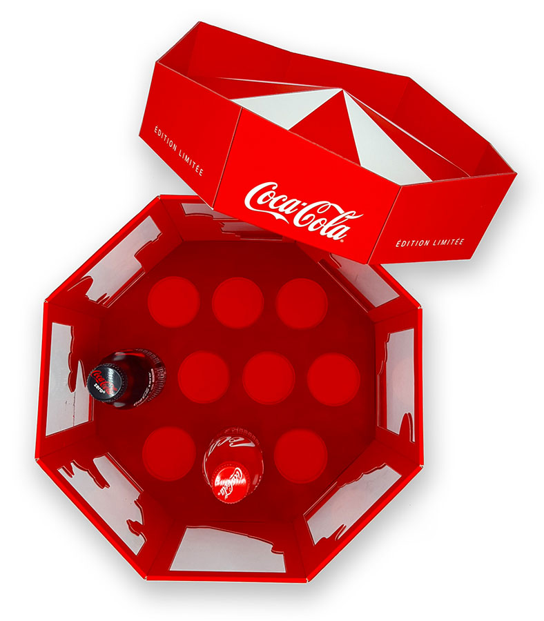packaging mousse Coca-Cola