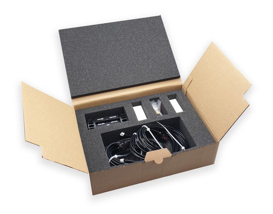 Packaging complet PU pour composants électroniques