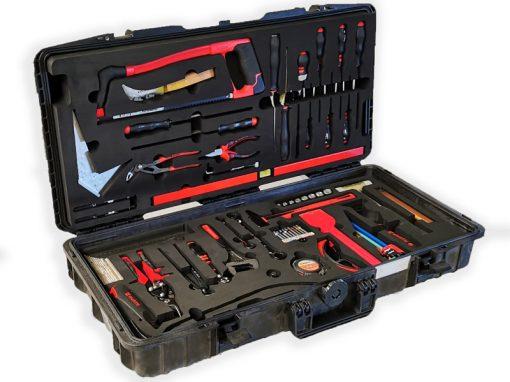 Série de valises de rangement pour des outils